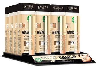 Акция на Корректоры Eveline 2в1 серии Art Professional Make-Up 16 шт + 4 тестера (5901761998702) от Rozetka
