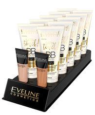 Акция на Набор многофункциональных тональных кремов Eveline Satin Touch BB Cream 8в1 с увлажняющим сывороткой 30 мл х 10 шт + 2 тестера (5901761993578) от Rozetka