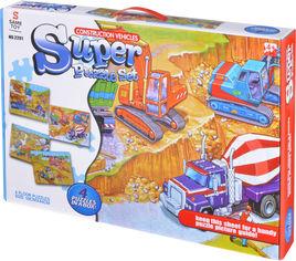 Акция на Пазл Same Toy Строительная техника 218 элементов (2201UT) от Rozetka