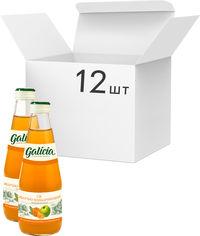 Акция на Упаковка сока Galicia Яблочно-мандаринового пастеризованного неосветленного 0.3 л х 12 шт (4820209562705) от Rozetka