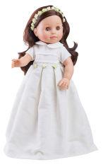 Акция на Кукла Paola Reina Норма в белом платье 40 см (06041) от Rozetka