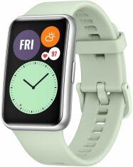 Акция на Смарт часы Huawei Watch Fit Mint Green от Територія твоєї техніки
