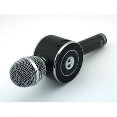 Акция на Беспроводной Bluetooth микрофон для караоке Magic Karaoke WS668 портативный Чёрный (SKL11-130337) от Allo UA