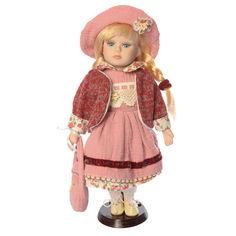 Акция на Кукла фарфоровая сувенирная Porcelain dolls G067-12 Коллекционная 31 cм (АС215-12) от Allo UA