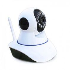 Акция на Беспроводная WiFi поворотная IP камера видеонаблюдения microSD GBX 6030 от Allo UA