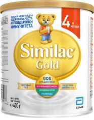 Акция на Сухая молочная смесь Similac Gold 4 400 г (5391523058766) от Rozetka