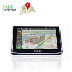 """Акция на Автомобильный GPS навигатор 5"""" экран GoNav 516 память 8Gb FM трансмиттер и карты IGO + Navitel + CityGuide от Allo UA"""