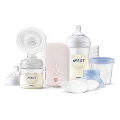 Акция на Набор для сцеживания молока Philips Avent электронный SCF395/21 ТМ: Philips Avent от Antoshka
