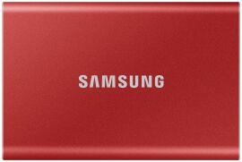 Акция на Жорсткий диск Samsung Portable SSD T7 1TB USB 3.2 Type-C (MU-PC1T0R/WW) External Red от Територія твоєї техніки