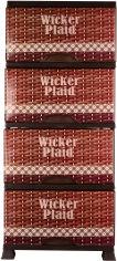 Акция на Комод Violet House 0352 94 х 46 х 38 см Wickir Plaid (0352 WICKIR PLAID) от Rozetka