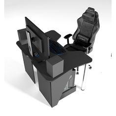 Акция на Стол геймерский игровой ZEUS IGROK-3 черный от Allo UA