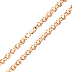 Акция на Золотая цепочка в плетении бисмарк 000101564 55 размера от Zlato