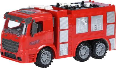 Акция на Машинка Same Toy Truck инерционная Пожарная автоцистерна (98-618Ut) от Rozetka