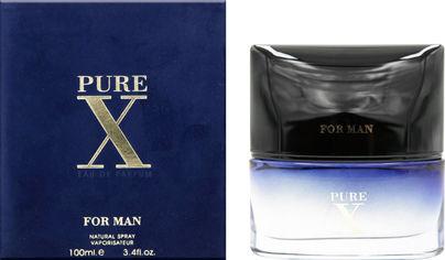 Акция на Парфюмированная вода для мужчин Fragrance World Pure X 100 мл (6291106486544) от Rozetka