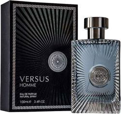 Акция на Парфюмированная вода для мужчин Fragrance World Versus Homme аналог Versace Pour Homme 100 мл (6291106487787) от Rozetka