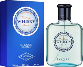 Акция на Туалетная вода для мужчин Evaflor Whisky Vintage 100 мл (3509168891279) от Rozetka
