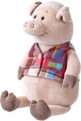 Акция на Мягкая игрушка Same Toy Свинка в жилетке 35 см (THT723) от Rozetka