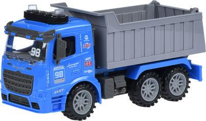 Акция на Машинка Same Toy Truck инерционная Самосвал со светом и звуком Синий (98-614AUt-2) от Rozetka