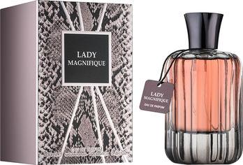 Акция на Парфюмированная вода для женщин Fragrance World Lady Magnifique аналог Lancome Magnifique 100 мл (6291106486070) от Rozetka