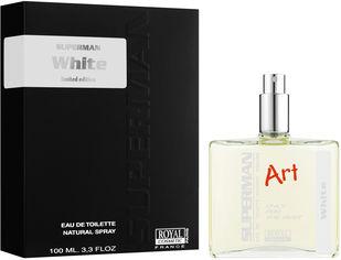 Акция на Туалетная вода для мужчин Royal Cosmetic Superman Art White аналог Lacoste L.12.12.Blanc 100 мл (8051277331160) от Rozetka