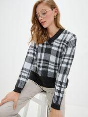 Акция на Пуловер Sewel JW763242100 46-48 Темно-серый с белым (Sew2000000279251) от Rozetka