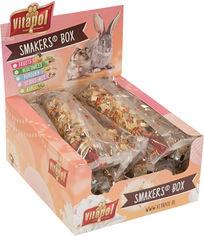 Акция на Набор лакомств для грызунов Vitapol Smakers Box с яблоками 12 шт (5904479131331) от Rozetka