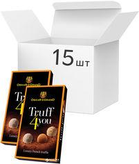 Акция на Упаковка конфет Oskar le Grand Truff4You 100 г х 15 шт (4820075502324) от Rozetka