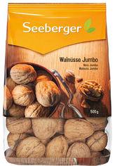 Акция на Грецкий орех Seeberger в скорлупе 500 г (4008258009017) от Rozetka