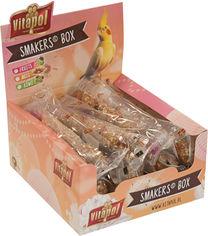 Акция на Набор лакомств для нимф Vitapol Smakers Box с орехами 12 шт (5904479132345) от Rozetka