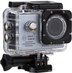 Акция на Экшн-камера Discovery XQ1 FHD Silver (dxq1s) от Rozetka
