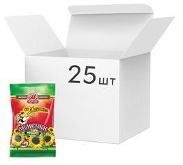Акция на Упаковка семечек подсолнуха жареных Мартин Премиум отборные 200 г х 25 шт (4814069000033) от Rozetka