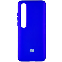 Акция на Чехол Silicone Cover Full Protective (A) для Xiaomi Mi 10 / Mi 10 Pro Синий / Navy от Allo UA
