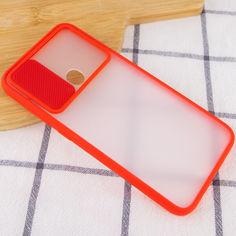 Акция на Чехол Camshield mate TPU со шторкой для камеры для Samsung Galaxy M11 / A11 Красный от Allo UA