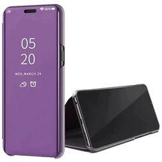 Акция на Чехол-книжка Clear View Standing Cover для Samsung Galaxy M31 Фиолетовый от Allo UA