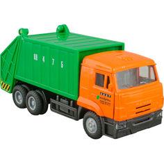 Акция на Автомодель Технопарк Камаз мусоровоз (CT12-457-4WB) от Allo UA
