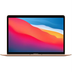Акция на Ноутбук APPLE A2337 MacBook Air 13' M1 256GB Gold 2020 (MGND3) от Foxtrot