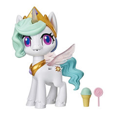 Акция на Интерактивная игрушка My Little Pony Волшебный поцелуй Принцесса Силестия с сюрпризами (E9107) от Будинок іграшок