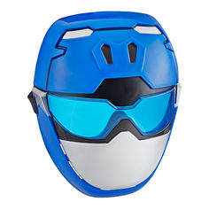 Акция на Игрушка-маска Power Rangers Beast morphers Синий рейнджер (E5898/E5926) от Будинок іграшок