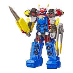 Акция на Игровая фигурка Power Rangers Beast morphers Мегазорд 25 см (E5900/E5948) от Будинок іграшок