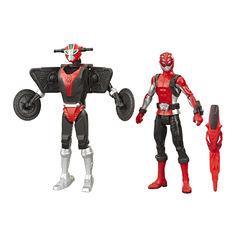 Акция на Игровой набор Power Rangers Beast morphers Красный рейнджер и зверобот (E7270/E7324) от Будинок іграшок