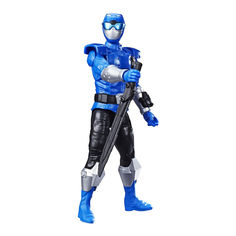Акция на Игровая фигурка Power Rangers Beast morphers Голубой рейнджер 30 см (E5914/E7803) от Будинок іграшок