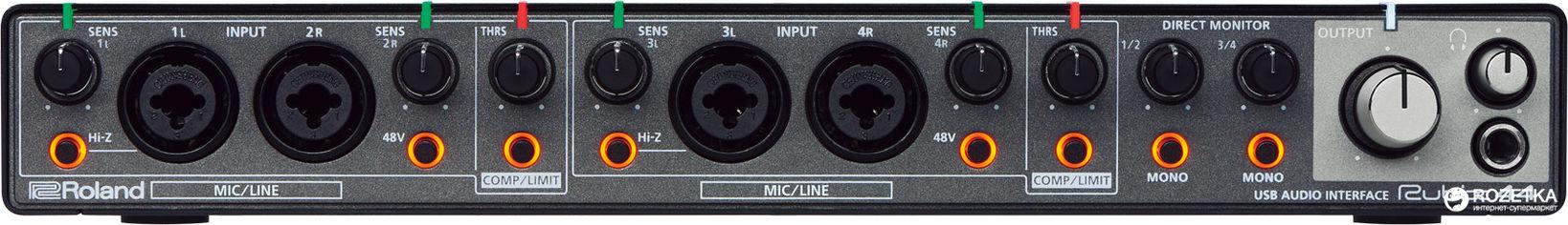 Акция на Аудиоинтерфейс Roland Rubix44 от Rozetka