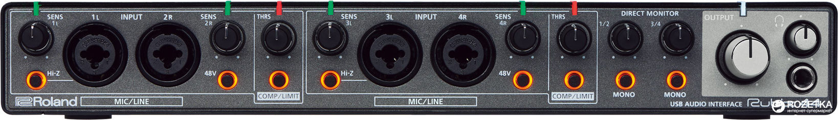 Аудиоинтерфейс Roland Rubix44 от Rozetka