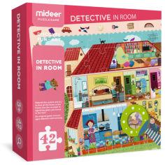 Акция на Пазл-детектив Mideer с лупой Загородный дом (MD3008) от Rozetka