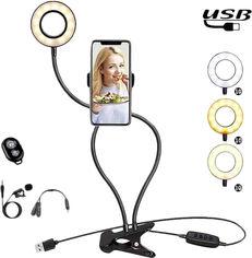 Акция на Набор блогера XoKo BS-100 + микрофон + пульт ДУ LED 9 см (BS-100+) от Rozetka