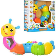 Акция на Развивающая игрушка Limo Toy Забавная гусеница (9182) от Allo UA