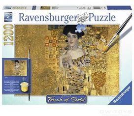 Акция на Пазл Ravensburger Золотая Адель Густав Климт 1200 элементов (RSV-199341) от Y.UA