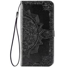 Акция на Кожаный чехол (книжка) Art Case с визитницей для Oppo A52 / A72 / A92 Черный от Allo UA