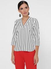 Блузка Fashion Up Daisy BZ-1786A 50 Белая с черным (2100000183661) от Rozetka