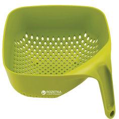 Акция на Дуршлаг Joseph Joseph Square Colander квадратный Зеленый (40088) от Rozetka
